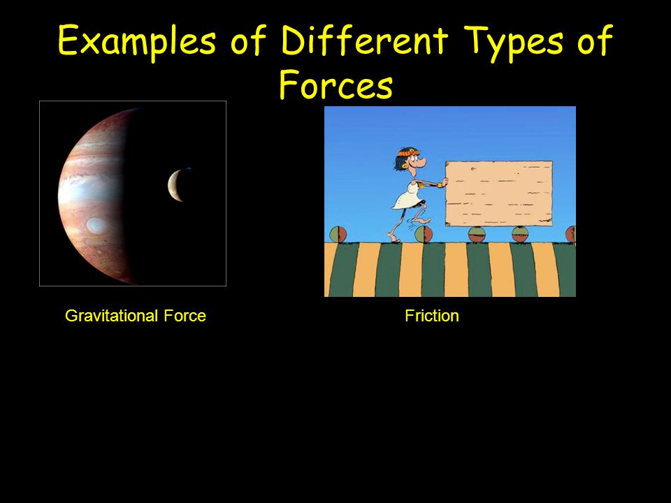 Examples of Different Types of Forces