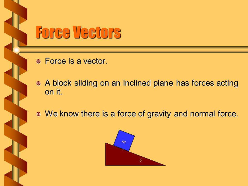 Force Vectors Force is a vector.