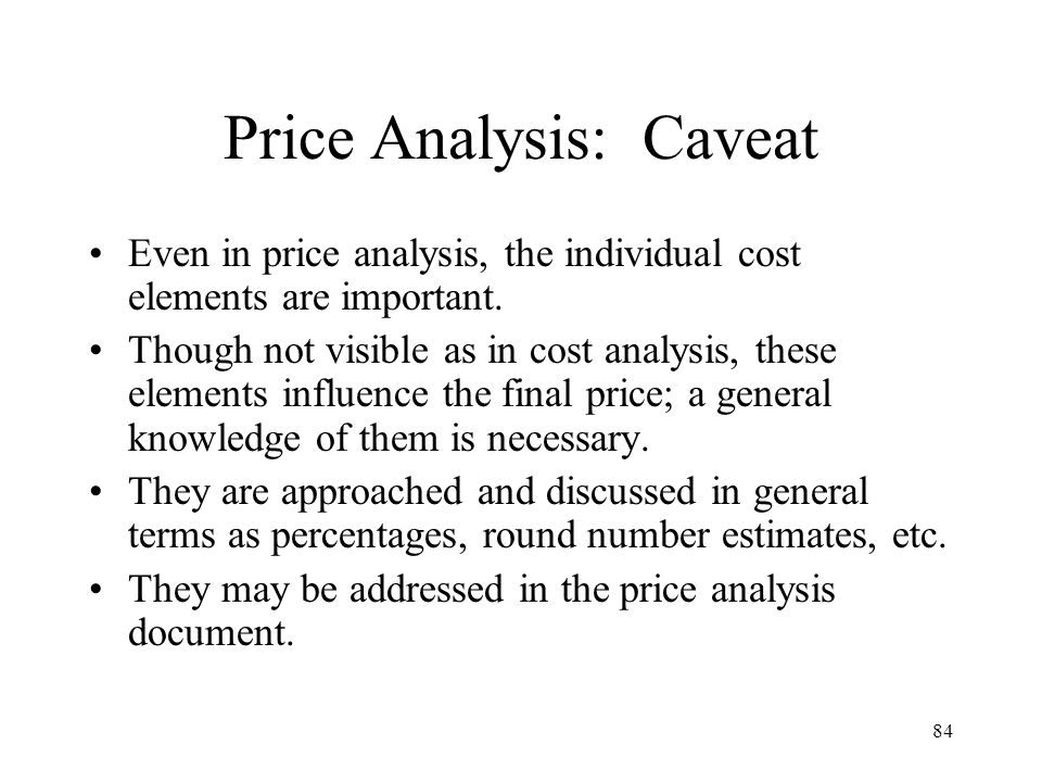 Price Analysis: Caveat