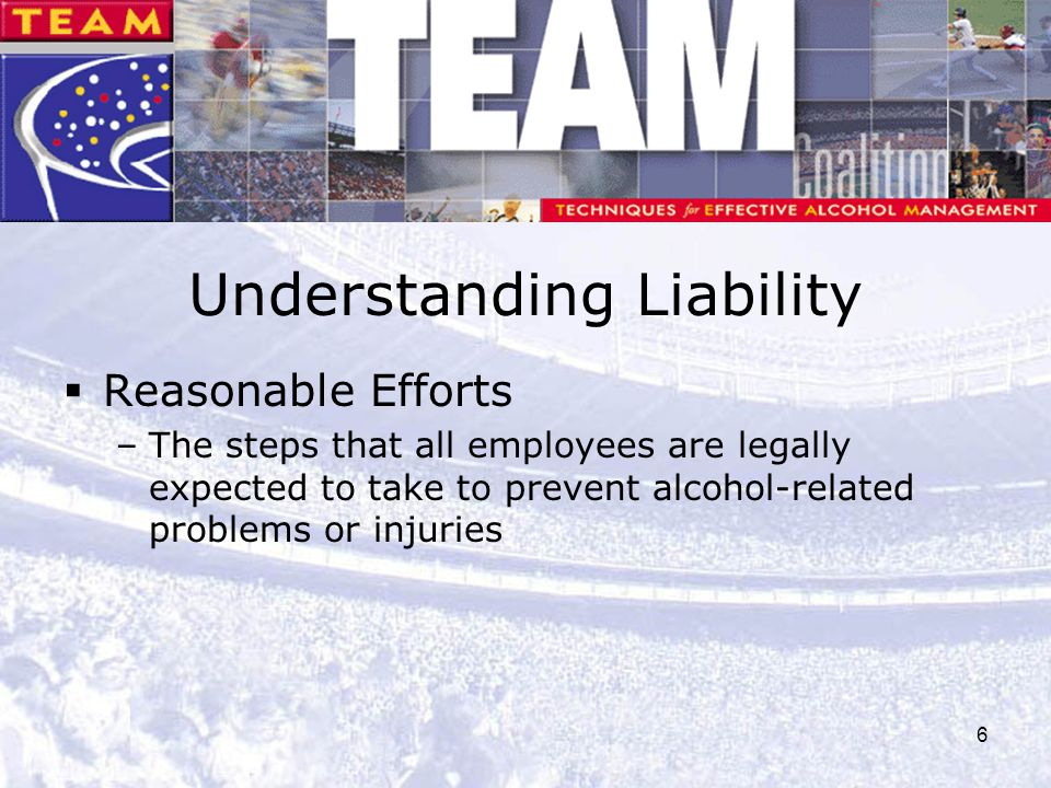 Understanding Liability