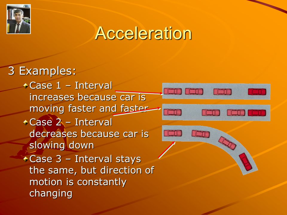 Acceleration 3 Examples:
