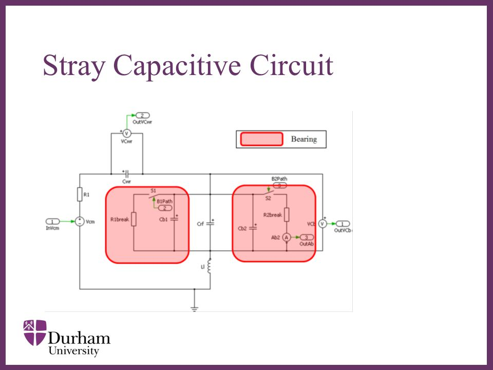 Stray Capacitive Circuit