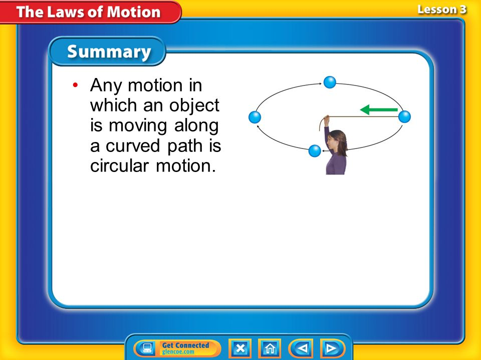 Any motion in which an object is moving along a curved path is circular motion.