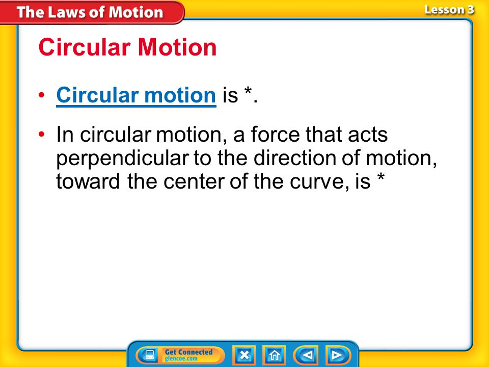 Circular Motion Circular motion is *.