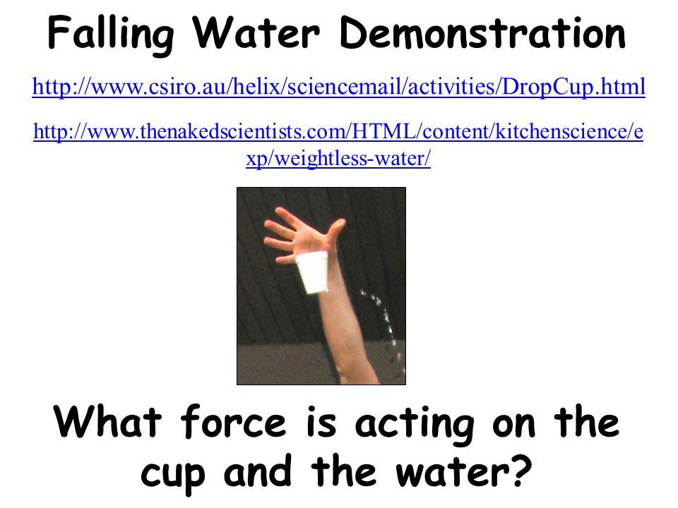 Falling Water Demonstration