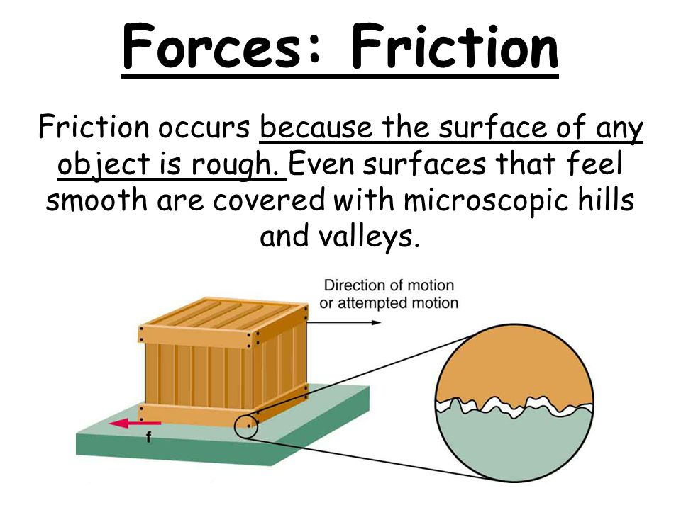 Forces: Friction