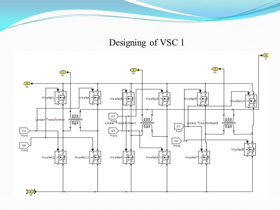 Designing of VSC 1