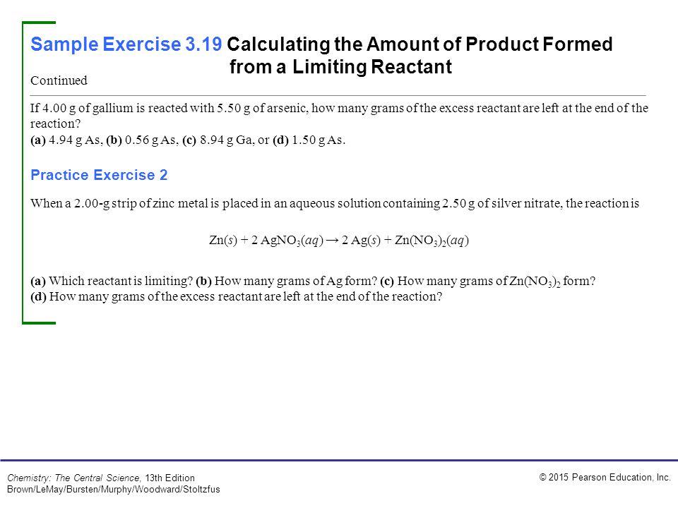 Zn(s) + 2 AgNO3(aq) → 2 Ag(s) + Zn(NO3)2(aq)
