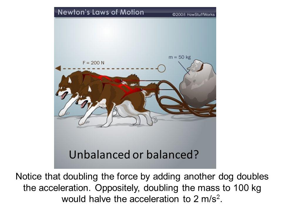Unbalanced or balanced
