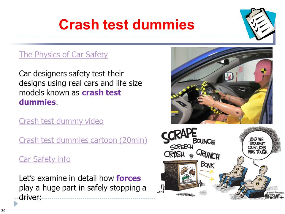 The Physics Of Car Safety Ppt Video Online Download