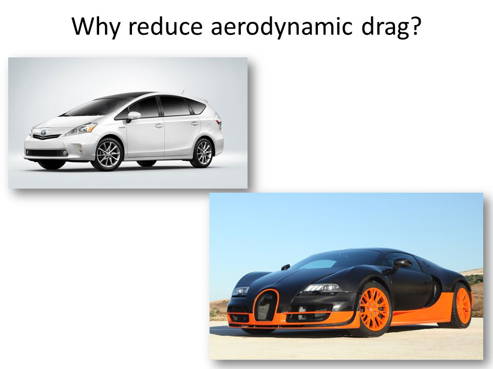Why reduce aerodynamic drag