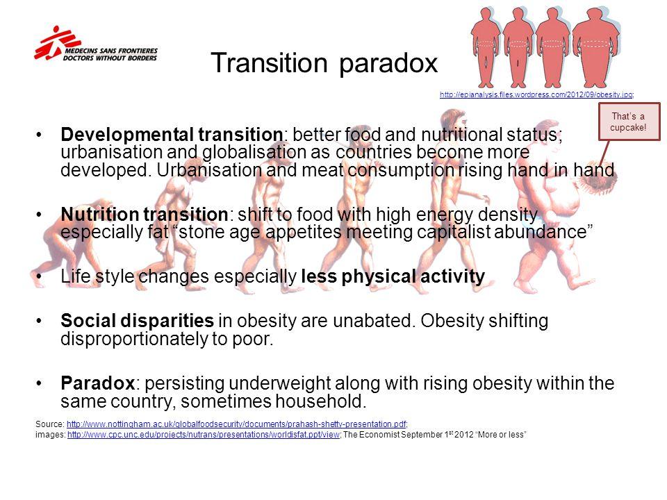 Transition paradox http://epianalysis.files.wordpress.com/2012/09/obesity.jpg; That's a cupcake! That's a cupcake!