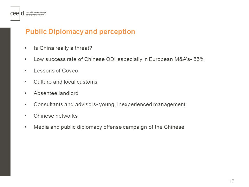 Public Diplomacy and perception