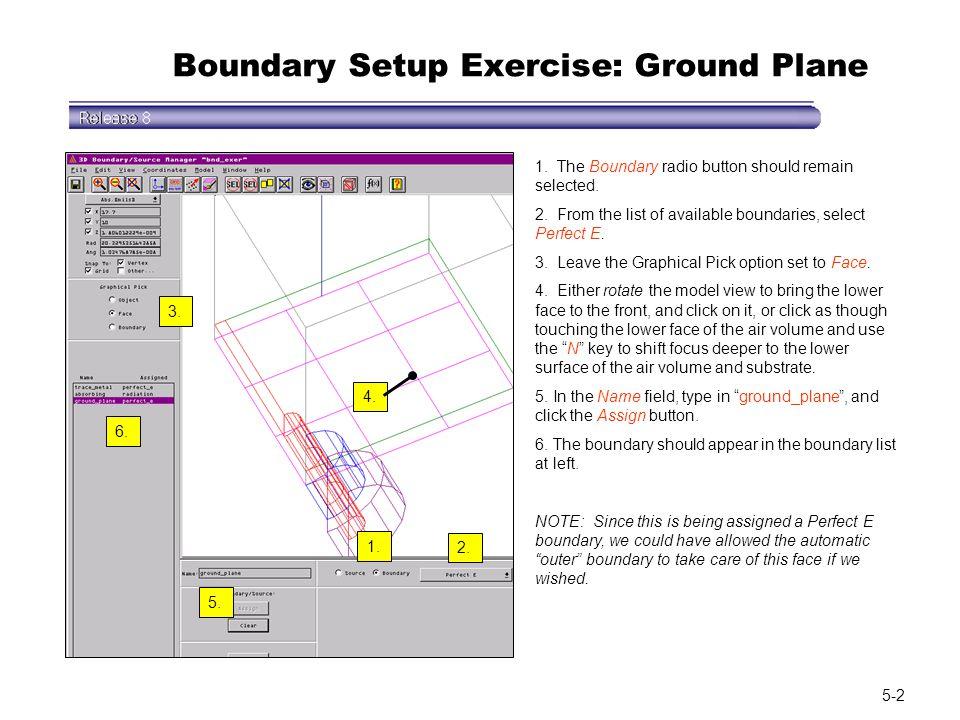 Boundary Setup Exercise: Ground Plane