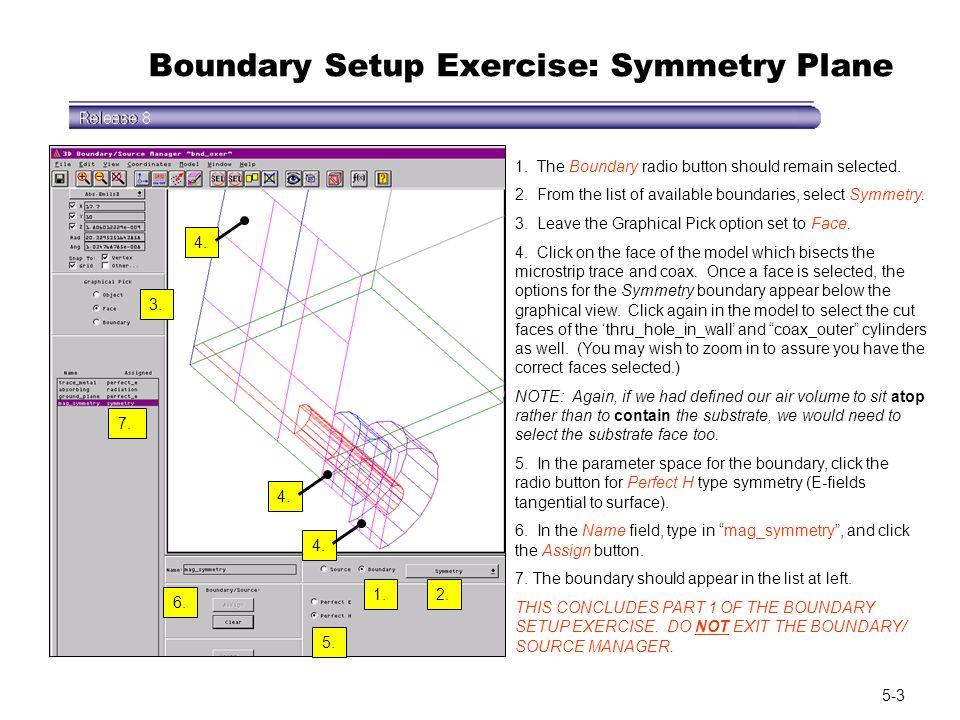 Boundary Setup Exercise: Symmetry Plane