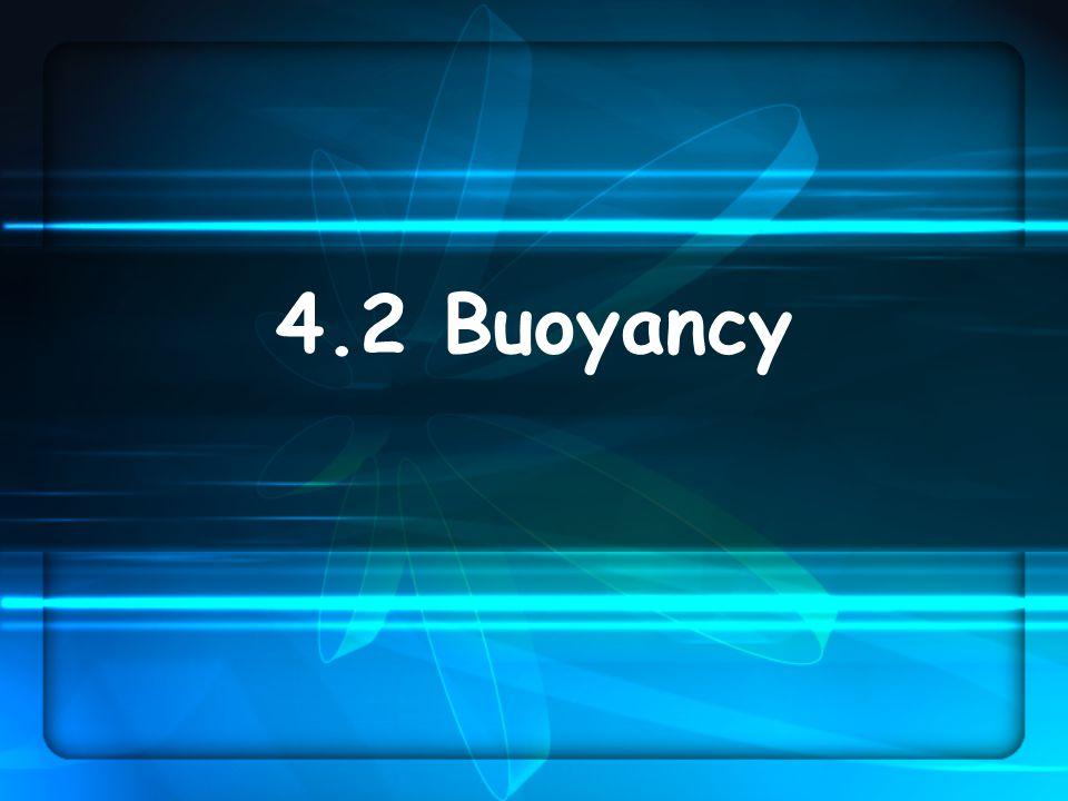 4.2 Buoyancy