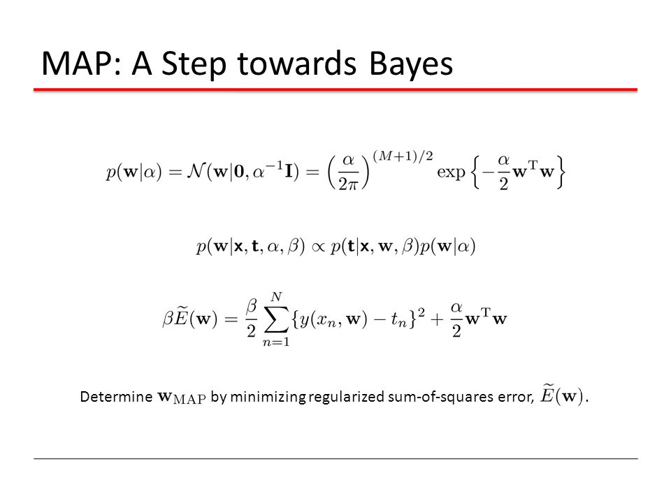MAP: A Step towards Bayes