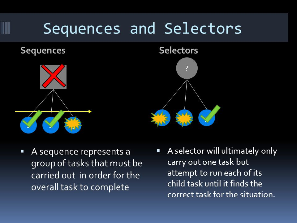 Sequences and Selectors