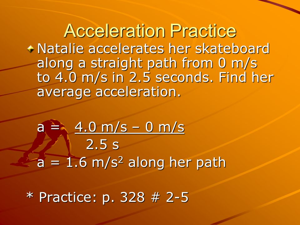 how to find average net force that cause acceleration