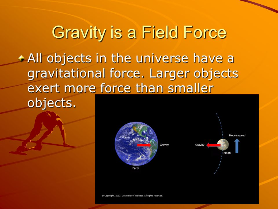 Gravity is a Field Force