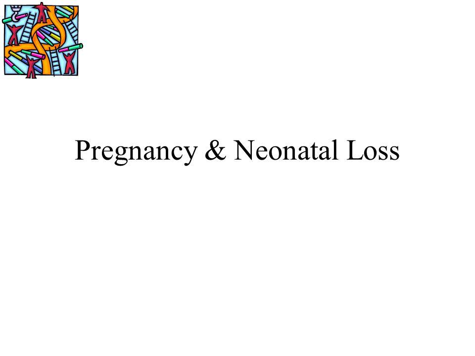 Pregnancy & Neonatal Loss