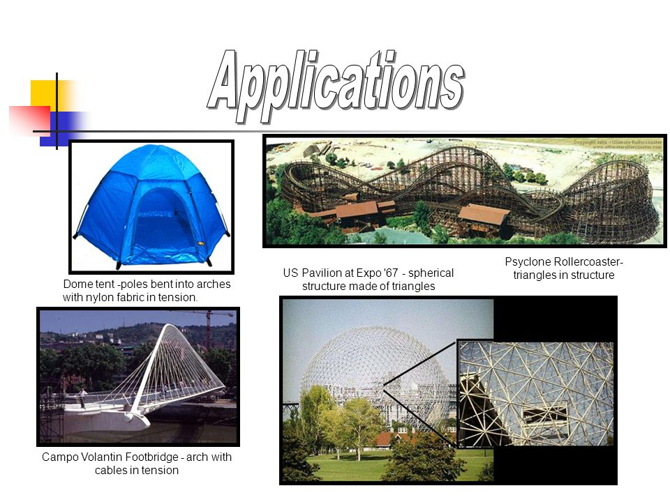 Applications Psyclone Rollercoaster- triangles in structure