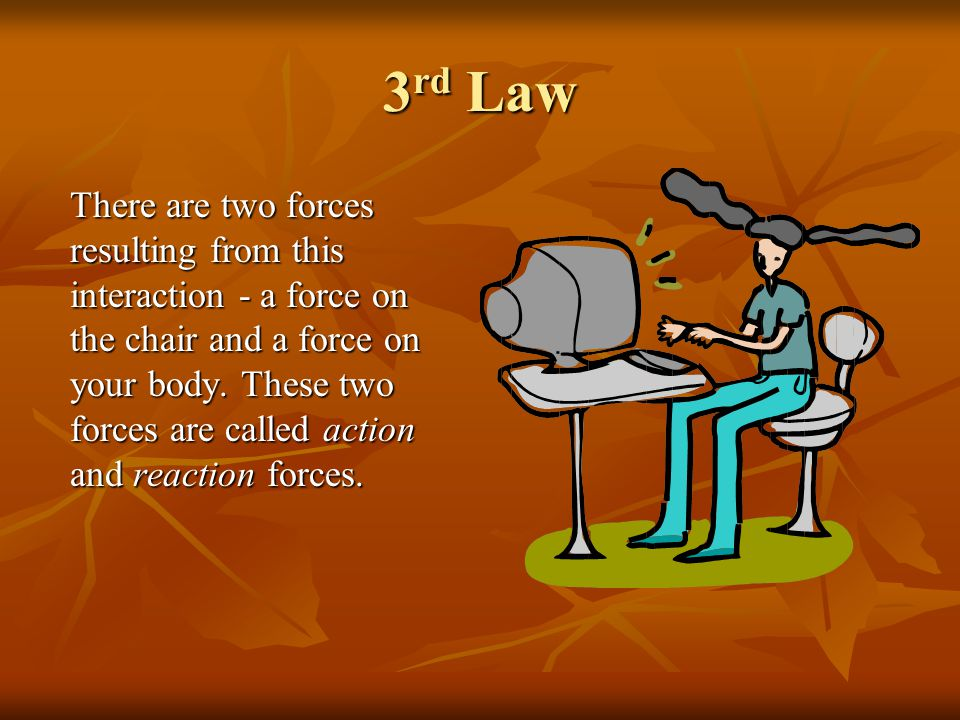 3rd Law