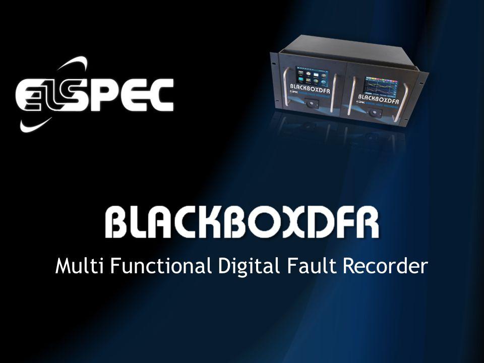 Multi Functional Digital Fault Recorder