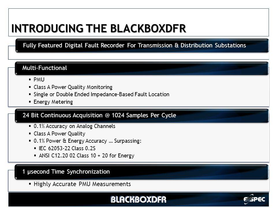 INTRODUCING THE BLACKBOXDFR