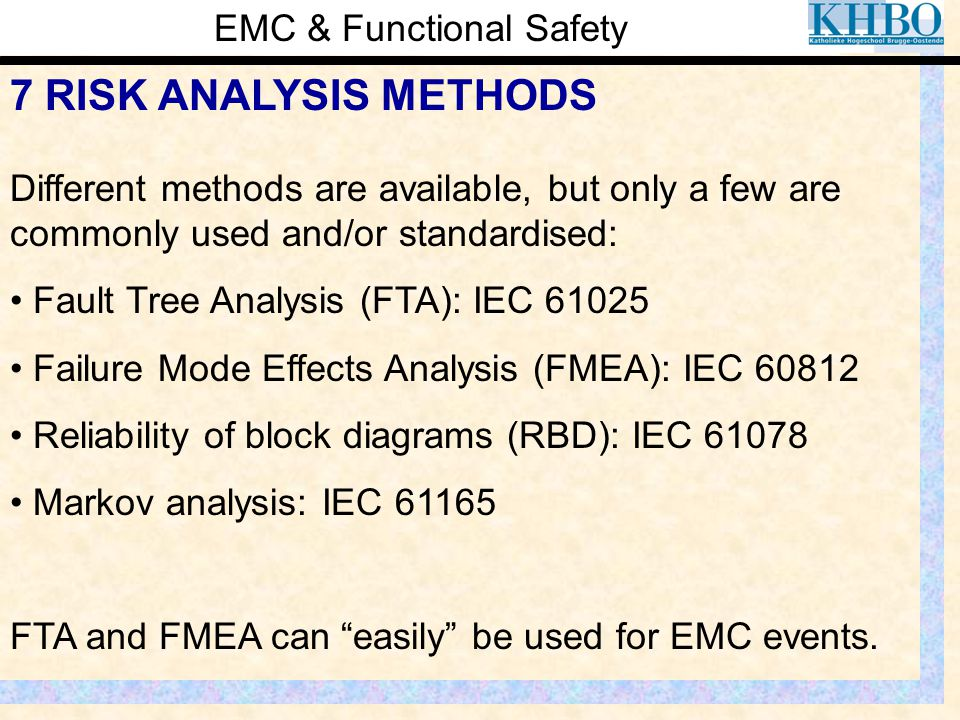 EMC & Functional Safety
