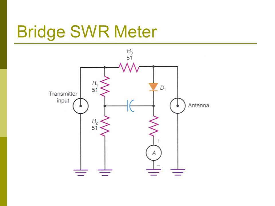 Bridge SWR Meter
