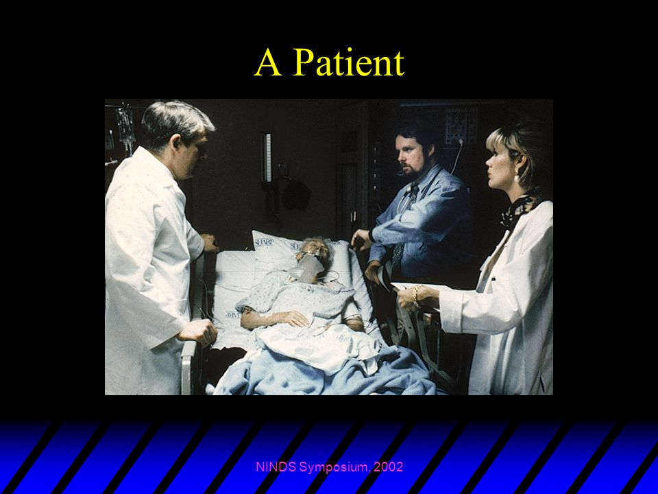 A Patient NINDS Symposium, 2002