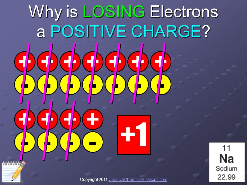 Why is LOSING Electrons