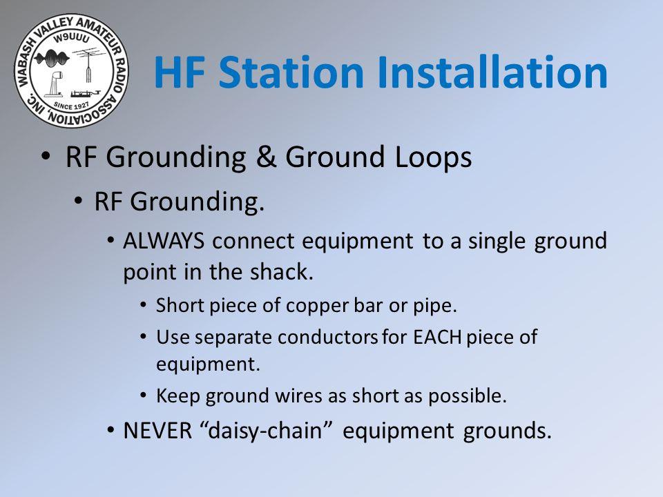 HF Station Installation