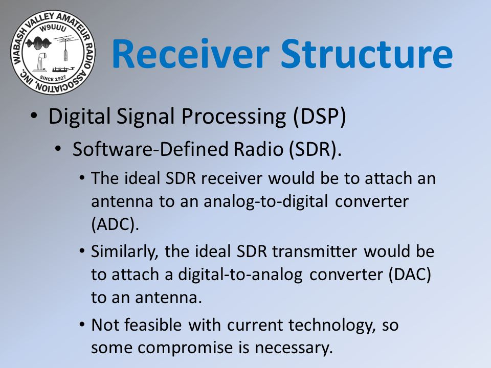 Receiver Structure Digital Signal Processing (DSP)