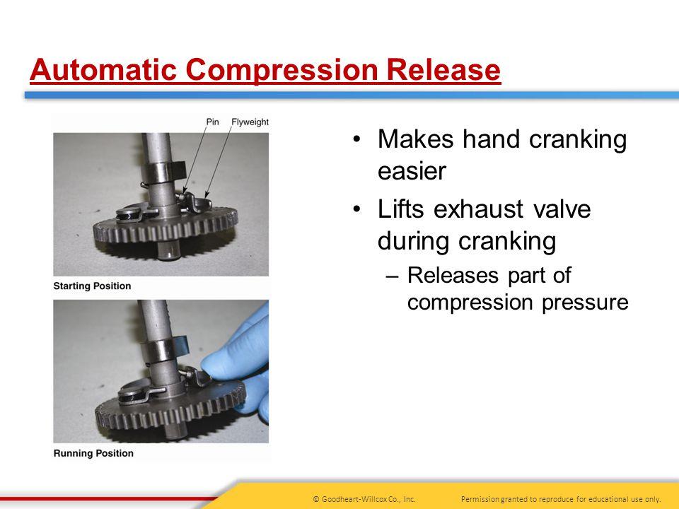 Automatic Compression Release
