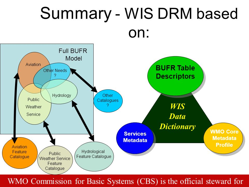Summary - WIS DRM based on: