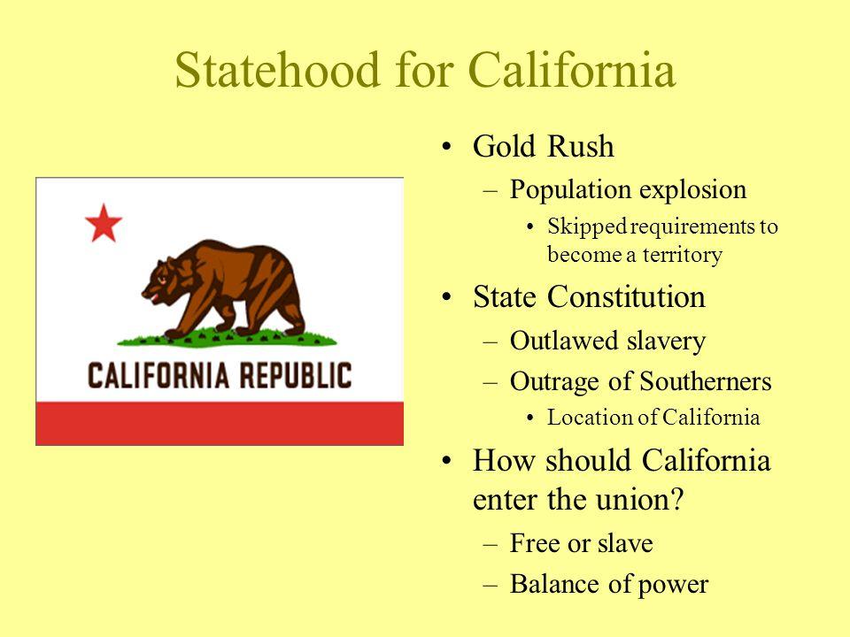 Statehood for California