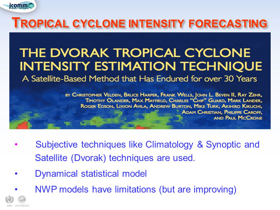 TROPICAL CYCLONE INTENSITY FORECASTING