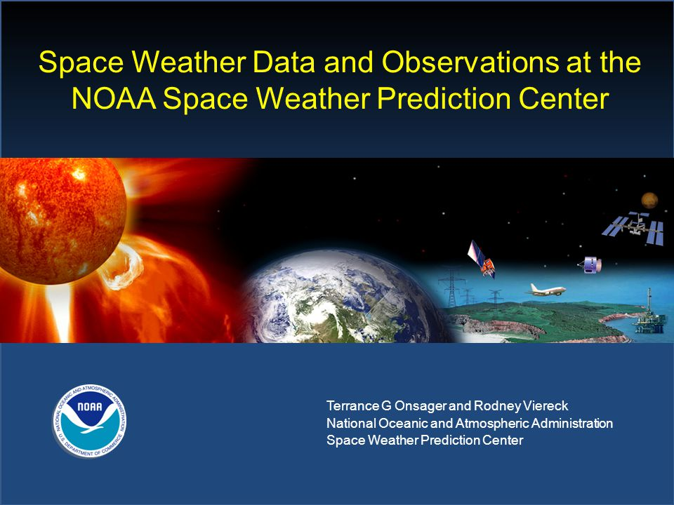 Space Weather Data and Observations at the NOAA Space Weather Prediction Center