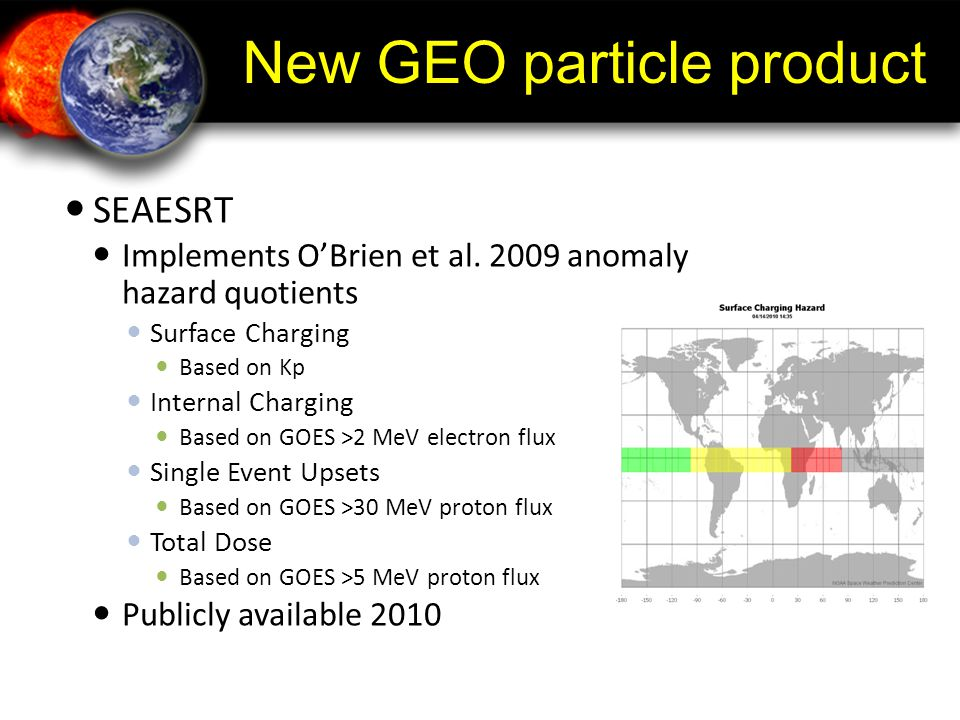 New GEO particle product