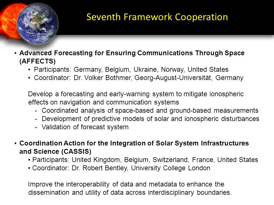 Seventh Framework Cooperation