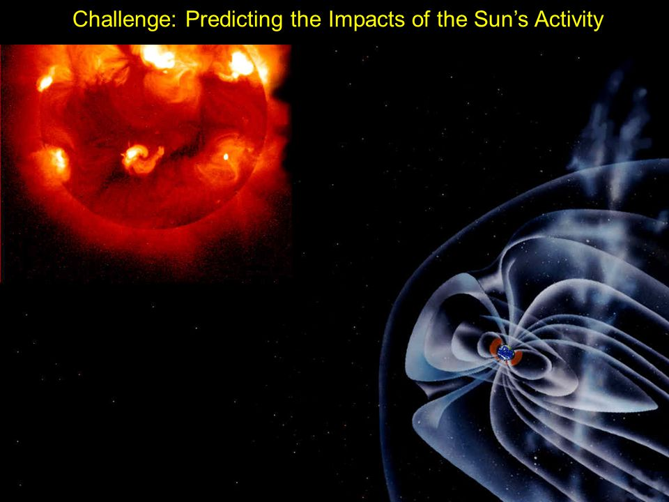Challenge: Predicting the Impacts of the Sun's Activity
