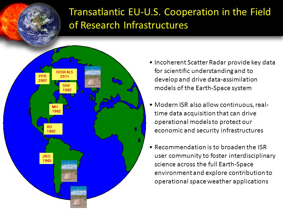 Transatlantic EU-U.S. Cooperation in the Field of Research Infrastructures
