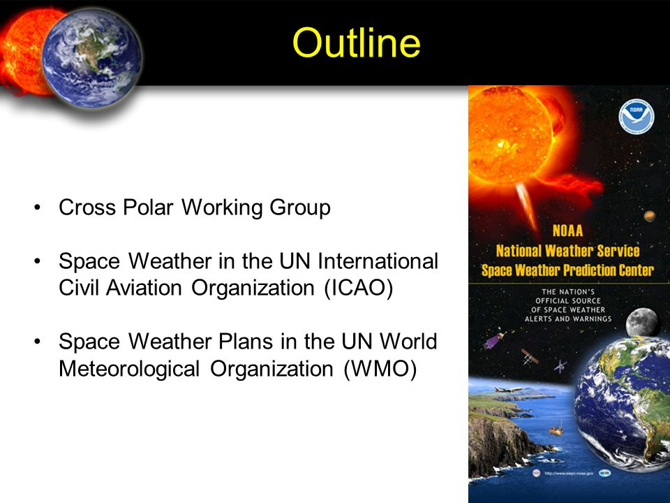 Outline Cross Polar Working Group
