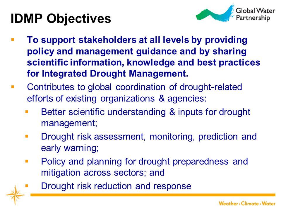 IDMP Objectives