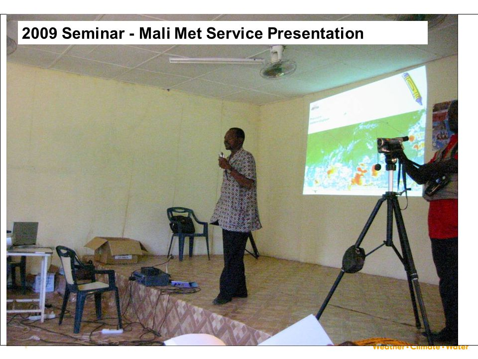 2009 Seminar - Mali Met Service Presentation