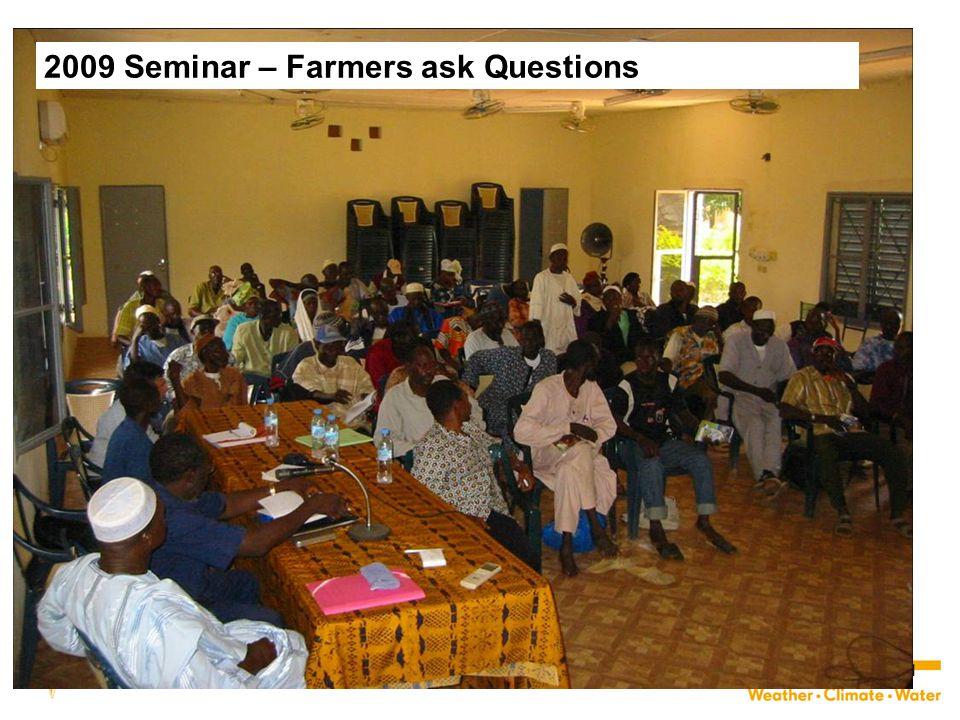 2009 Seminar – Farmers ask Questions