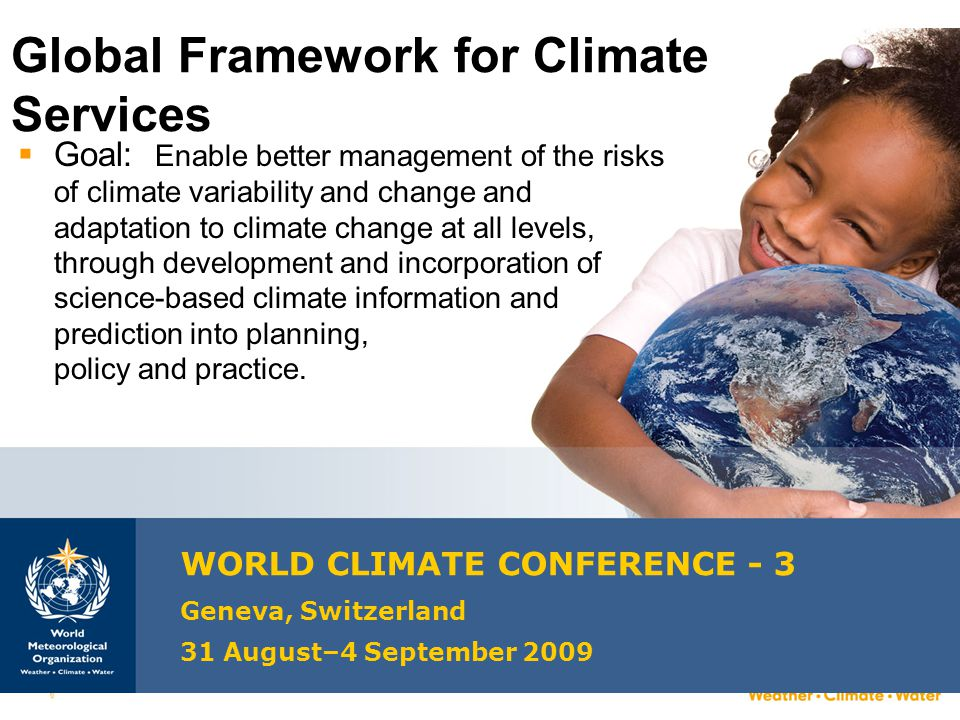 Global Framework for Climate Services