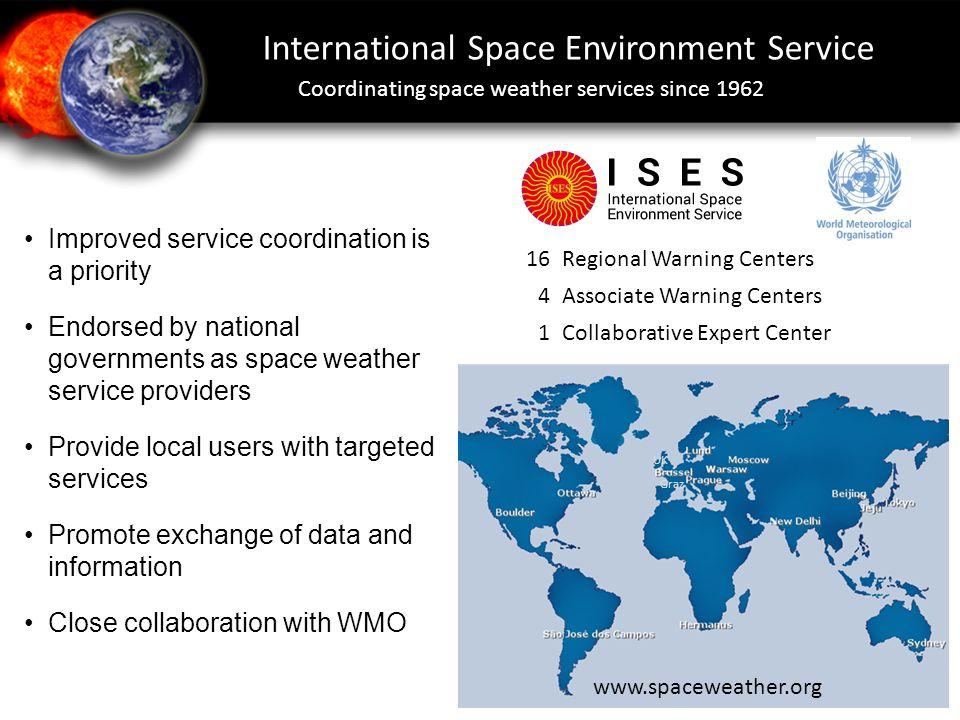 International Space Environment Service